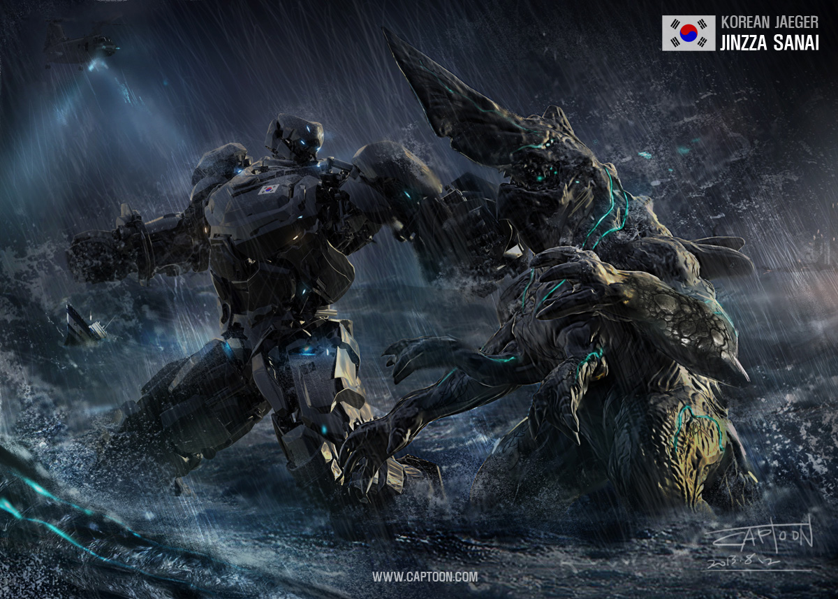 Pacific Rim Knifehead Wallpaper Large Scale Aggressor